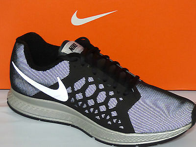 best authentic 5faaf 2d197 Nike Zoom Pegasus 31 Flash Men s Running Shoes Size 6.5,Blk Silver, 683676