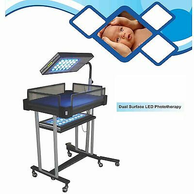 Led Photothreapy Infant Light Therapy Double Surface With Basinet, Phototherapy