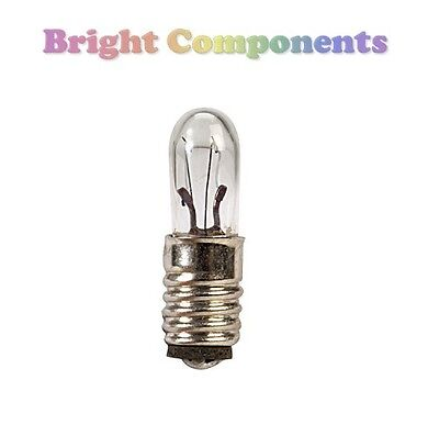 2x LES Miniature Lamp Light Bulb : 12V 50mA : 5mm : E5 : 1st CLASS POST