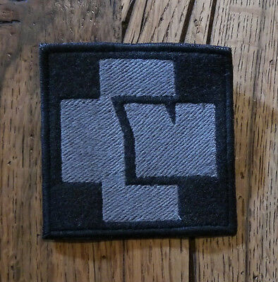 Rammstein Embroidered Patch Lp Cd Metallica System Of A Down Slipknot Deathstars