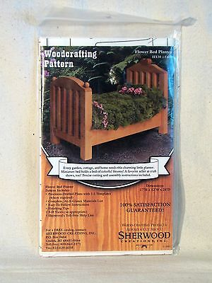 Sherwood Creations Flower Bed Planter Woodworking Patterns