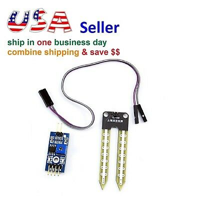 Soil Hygrometer Detection Module Moisture Sensor for Arduino Smart Robot Car