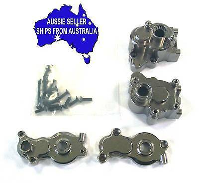 Complete alloy transmission kit for Axial Yeti 1:10 RC Truck.- Gunmetal colour