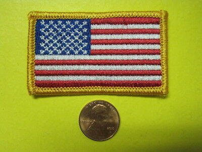 Us Flag Patch Usa Mini Size 100% Embroidery