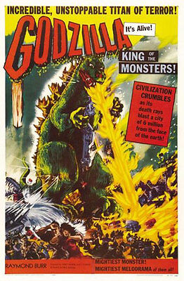 GODZILLA - KING OF THE MONSTERS POSTER - 24x36 CLASSIC MOVIE 0319