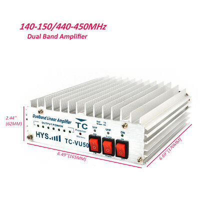 140-150&440-450Mhz Transmitter Transceiver Two Way Mobile Radio  Power Amplifier