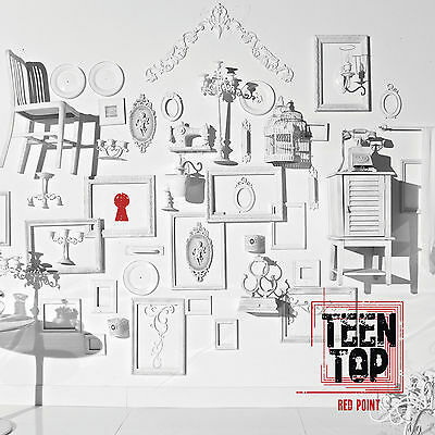 TEEN TOP - Red Point CHIC ver (7th Mini Album) CD+72p Photobook+Photocard