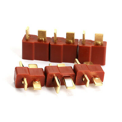 10 Pairs Male Female Ultra T Connectors Plug Deans Style For RC LiPo Battery Hot