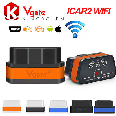 Vgate iCar2 WiFi ELM327 OBDII Code Reader OBD2 Car Scanner for iOS/Android