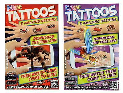 Magic Tattoos That Come To Life 8 Different Designs For Boys & Girls