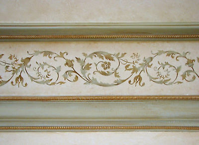 Versailles Border Stencil - Elegant Border Stencil for Classical French Decor