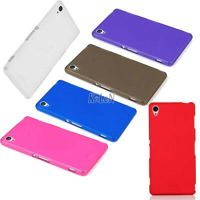 Soft TPU Rubber Matte Gel Silicone Case Cover Skin For Sony Xperia Mobile Phones