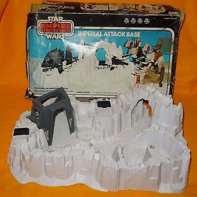 Vintage 1980 Palitoy Star Wars Empire Strikes Back Imperial Attack Base Boxed