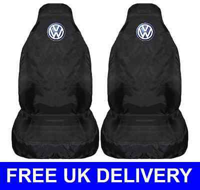 VW CAR SEAT COVERS PROTECTORS WATERPROOF - Up Fox Lupo Polo Golf Jetta Passat