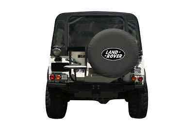 Land Rover Black Spare Wheel Cover Soft Defender Discovery Freelander Large 31""