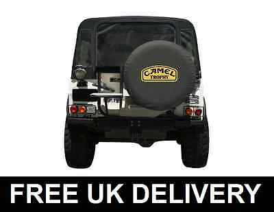 Camel Trophy Soft Spare Wheel Cover Land Rover 4X4 Jeep Off Road - Medium 30""