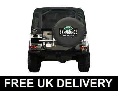 Land Rover Experience Spare Wheel Cover Defender Discovery Freelander Medium 30""
