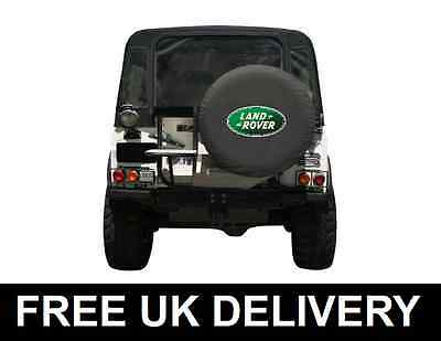 """Land Rover Spare Wheel Cover Soft For Defender Discovery Freelander - Large 31"""""""