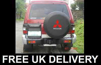 Mitsubishi Spare Wheel Alloy Cover Protector For Shogun Pajero 4X4 - Medium 30""
