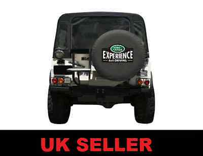 Land Rover Experience Spare Wheel Cover Defender Discovery Freelander  Large 31""
