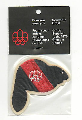 Orig.clothe badge   Olympic Games MONTREAL 1976  -  mascot AMIK / in Orig.pack !