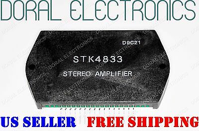 STK4833 with HEAT SINK COMPOUND FREE SHIPPING US SELLER Integrated Circuit
