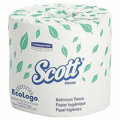 Scott Bulk Toilet Paper Individually Wrapped Standard Rolls 2 PLY White Case