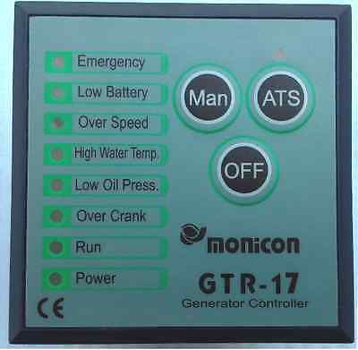 New Generator Controller GTR-17 Auto Start Stop Function 90 days warranty