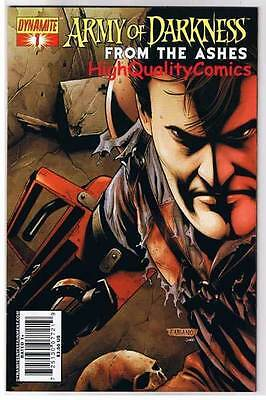 ARMY of DARKNESS From the Ashes #1, Neves, 2007, NM, Evil Dead, Deadites, Horror