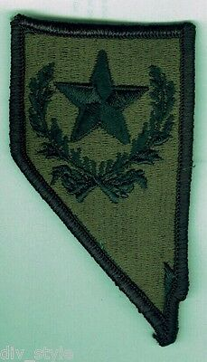 Nevada Army National Guard subdued Patch Military Surplus mint condition