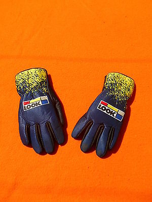 LOOK Gloves Gants Gantes True Vintage Made in Italy Old School Eroica Cycling