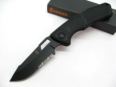 Couteau Gerber Order Lame Acier 420HC Combo Edge Manche FRN Made In USA G1011
