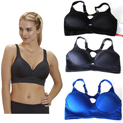 Sports Bras High Impact Racerback Wire Free Comfy Cool Dry XS/S/M/L/XL 0946