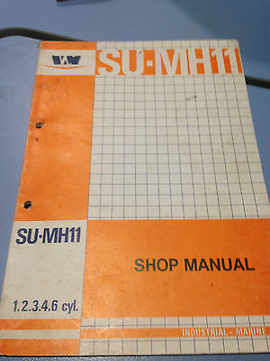 VM Diesel Engine Shop Manual SU-MH11