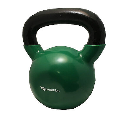 24KG Vinyl Kettlebell Strength Training Home Gym Fitness Kettlebells