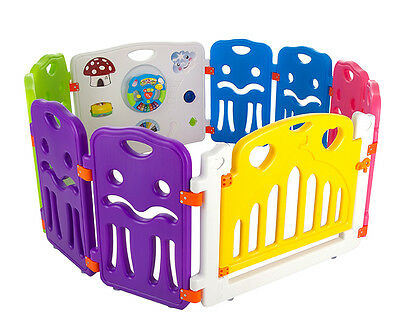 Cannons UK Plastic Baby Playpen Play Pen Baby Den D