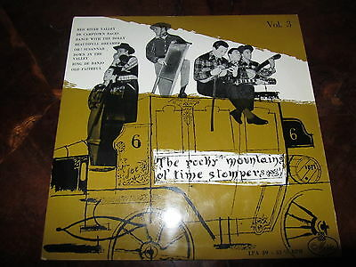 "THE ROCKY MOUNTAINS OL' TIME STOMPERS I CAMPIONI Rockabilly Bluegrass 10"" Italy"