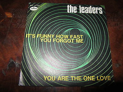 THE LEADERS IT'S FUNNY HOW FAST YOU FORGOT ME Norther Soul Mega Rare Italy 45 NM