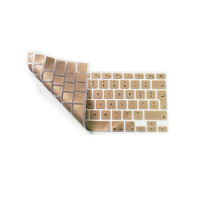 Protège Clavier Silicone D·or Protection Pour Apple MacBook Air 11,6 UK-EU
