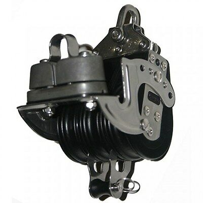 NAUTOS 92237 Triple fixed with cam and becket – 57 mm – Classic block