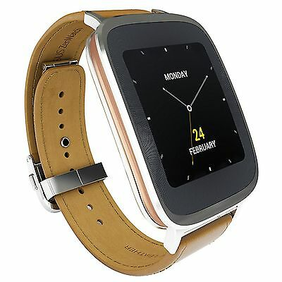 Asus Zenwatch WI500Q Smartwatch Retail Packaging Silver & Rose Gold NEW!