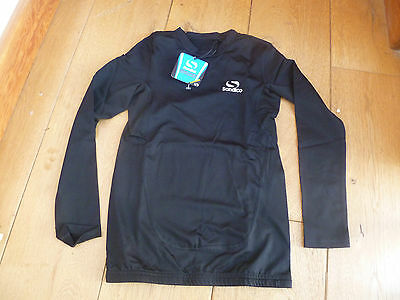 Kids Sondico Compression Thermal Base Layer Long Sleeved Top Spf 30 Wicking