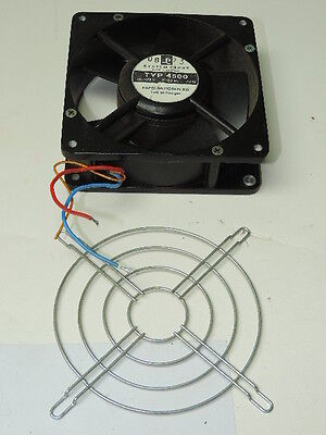 Papst 4500 Axial Fan 105/120 VAC, 50/60 Hz 24W with grill TESTED