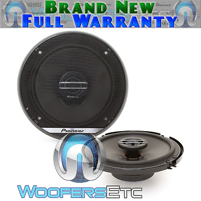 "Pioneer Ts-G1620F 6.5"" 300W 2-Way Dome Tweeters Coaxial Car Stereo Speakers New"