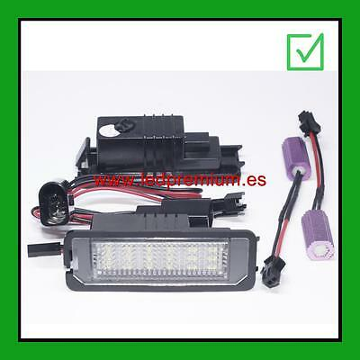 2x LED NUMBER PLATE LIGHTS SEAT LEON 2 II MK2 CANBUS