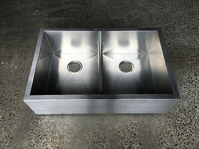 832*534*254 stainless steel Double Bowl Butler Style farmhouse Kitchen Sink