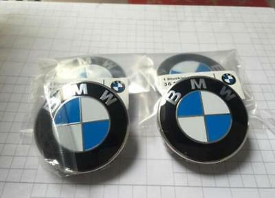 4 pcs Genuine  Wheel Center Hub Cap 68 MM for BMW 1 3 5 6 7 X Series OEM