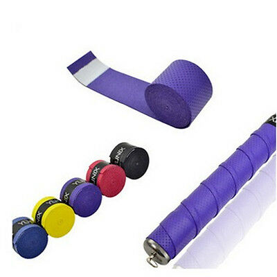 1PC Colorful Cycling Road Bicycle Racket Cork Handle Bar Grip Wrap Tape Sports