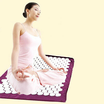New Yoga Massager Cushion Bed Nails Mat for Acupressure Massage Health Care