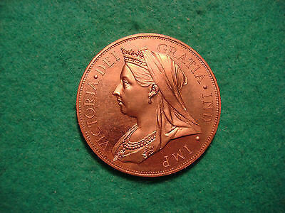 cyprus 1901 victoria  copper Pattern model thirty six piastres crown KM Xm11b